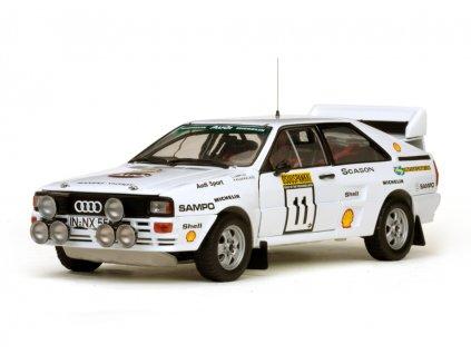 Audi Quattro A2 # 11 1000 Lakes Rally 1983 1:18 Sun Star