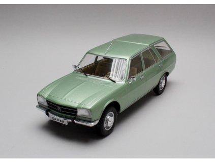 Peugeot 504 Break 1976 matalíza zelená 1:18 MCG