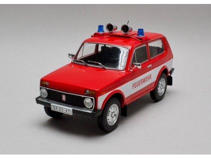Lada Niva Feuerwehr ( Požární sbor ) 1:18 MCG