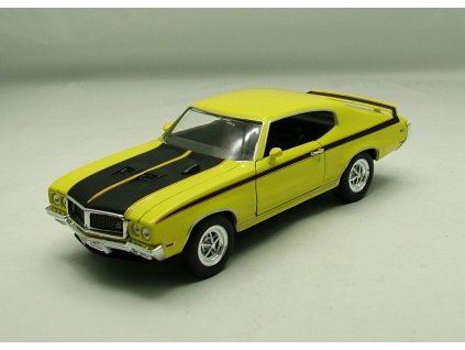 Buick GSX 1970 žlutá 1:24 Welly