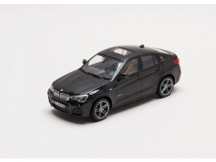 BMW X4 2015 černá (F26) 1:43 Herpa