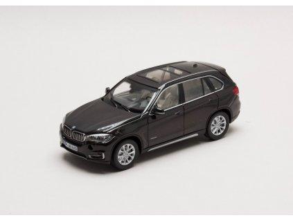 BMW X5 series 2013 tmavě hnědá (F15) 1:43 Paragon