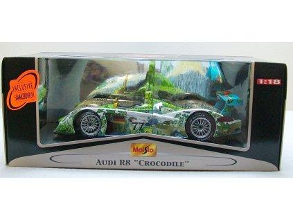 Audi R8 Crocodile # 77 1:18 Maisto