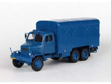 Praga V3S Skříňový Vůz 1967 modrá 1:43 Abrex