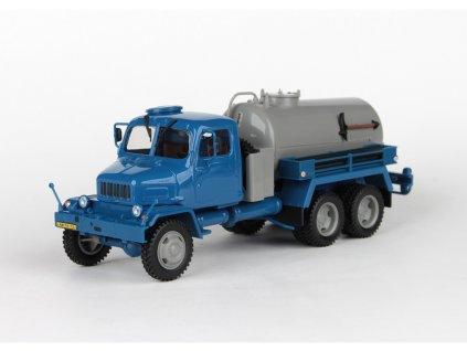 Praga V3S Fekální Vůz 1967 modro-šedá 1:43 Abrex