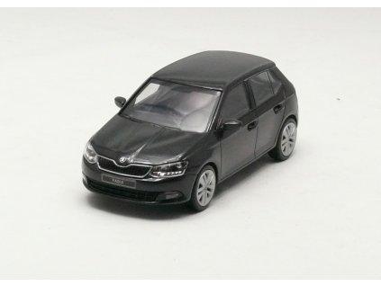 Škoda Fabia III Htb černá 1:43 i-scale