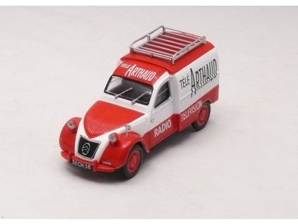 Citroen 2CV Fourgonnette Télé Arthaud 1:43 Car Selection