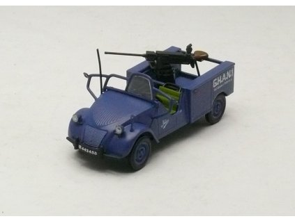 Citroen 2CV Jules á mitrailleuse 1:43 Car Selection
