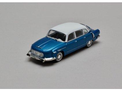 Tatra 603 1970 modro-bílá 1:43 WhiteBox