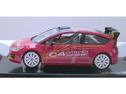 Citroen C4 Sport Concept Car červená 1:18 Solido