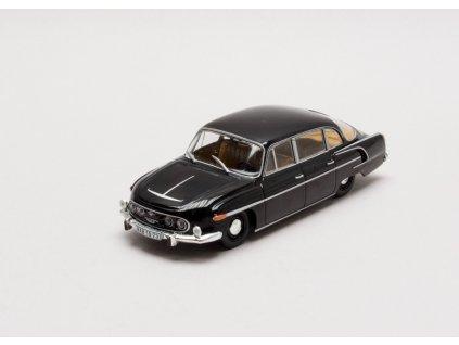 Tatra 603 1969 černá béžový interiér 1:43 Abrex