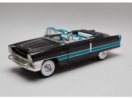 Packard Carribean Convertible 1955 černá 1:18 Yat Ming