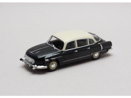 Tatra 603 1957 černá - slonová kost 1:43 Atlas