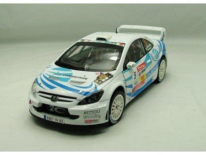 Peugeot 307 WRC 2nd Rallye du Var 2011 # 5 1:18 Sun Star