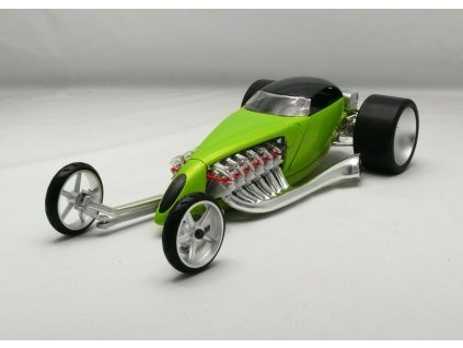 Hot Rod Slightly Modified zelená 1:18 Hotwheels