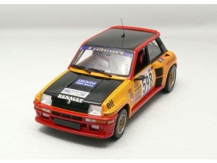 Renault 5 Turbo 1979 Rallye Itália # 598 1:18 Universal Hobbies