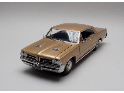 Pontiac GTO 1964 metalíza bronzová 1:18 Sun Star