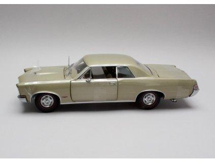 Pontiac GTO 1965 metalíza zlatá 1:18 Sun Star