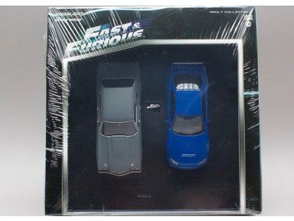 Chevrolet Chevelle SS + Nissan Skyline 1:43 Greenlight
