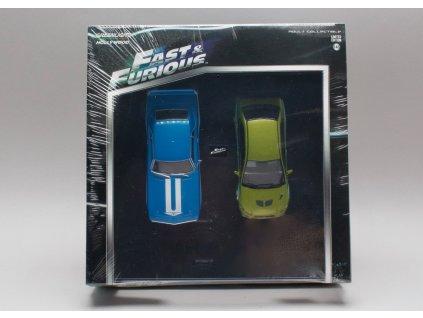 Chevrolet Yenko Camaro + Mitsubishi Lancer 1:43 Greenlight