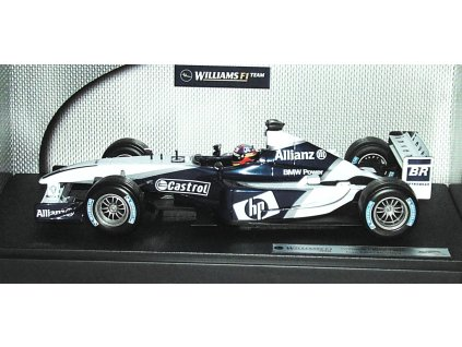 Williams BMW FW25 F1 2003 1:18 Hot Wheels