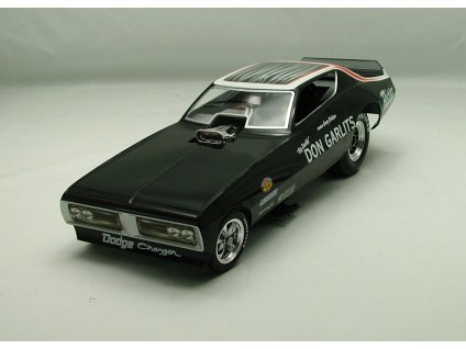 Dodge Charger 1971 NHRA Funny Car 1:18 Auto World American Muscle Ertl