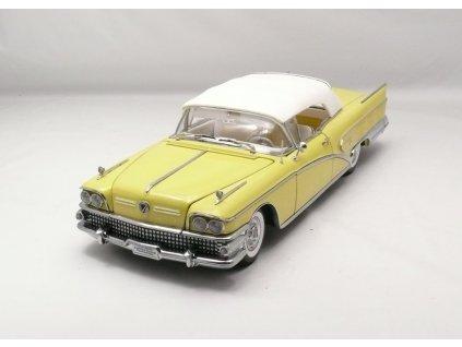 Buick Limited 1958 closed Convertible 1:18 Sun Star Platinum