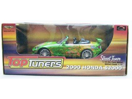 Honda S 2000 Street Tuners zelená 1:18 Ertl