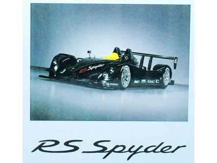 Porsche RS Spyder carbon AutoArt 02160618 02