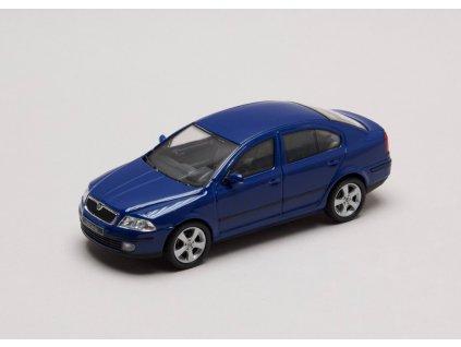 Škoda Octavia II 2004 modrá Dynamic 1:43 Abrex
