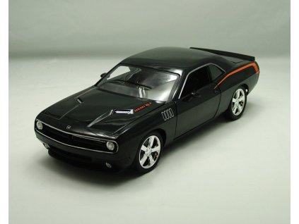 Plymouth Cuda Concept 2011 černá 1:18 Highway 61
