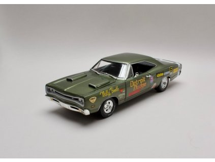 Dodge Coronet Super Bee 1969 Wally Booth zelená 1:18 Auto World