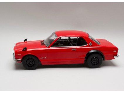 Nissan Skyline GT-R KPGC10 červená 1:18 Triple9 Collection
