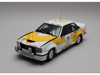 Opel Ascona 400 Rally # 7 Swedish Rally 1980 1-18 Sun Star