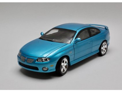 Pontiac GTO Coupe 2004 modrá 1:18 Auto World