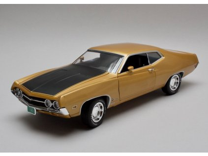 Ford Torino Cobra 1970 zlatá 1:18 Auto World