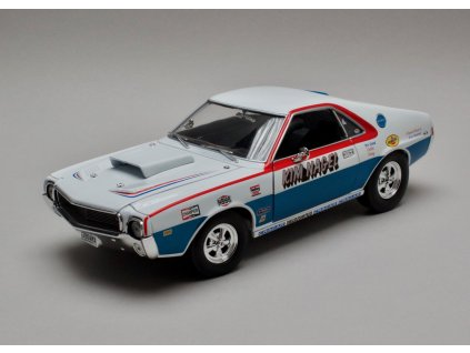 AMC AMX Hurst S/S 1969 Kim Nagel 1:18 Auto World