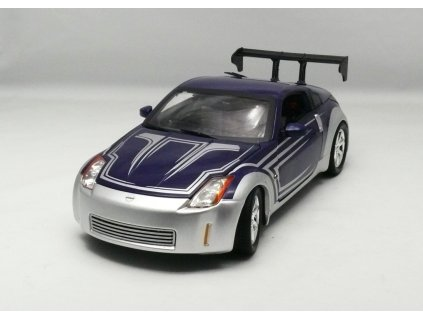 Nissan 350Z 2003 stříbrno-modrá - Rychle a zběsile III 1:18 Ertl