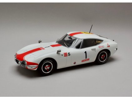 Toyota 2000 GT 1967 #1 24h Fuji 1:18 Triple9 Collection