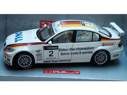 "BMW 320si WTCC ""Jörg Müller"" #2 Team Germany 1:18 Guiloy"