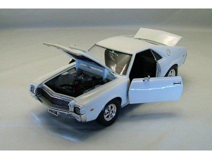 AMC AMX Hurst S/S 1969 bílá 1:18 Auto World-American Muscle Ertl