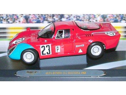 Alfa Romeo 33,2 Daytone 1968 # 23 1:18 Ricko