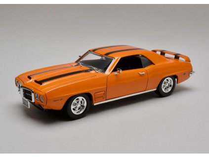 Pontiac Firebird Trans Am 1969 oranžová 1:18 Lucky Die Cast