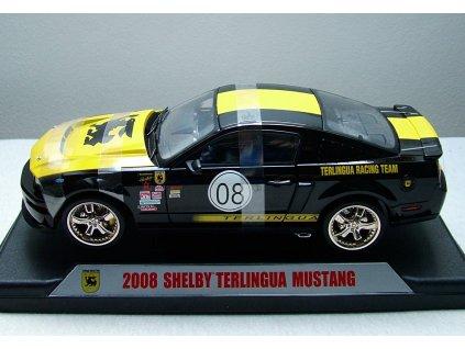 Ford Mustang Shelby Terlingua 2008 č.08 černo-žlutá 1:18 Shelby Collectibles