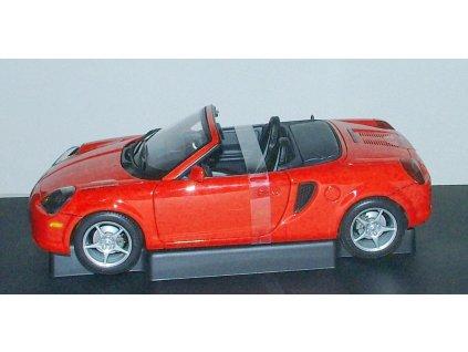 Toyota MR2 Spyder 2000 LHD červená 1:18 Auto Art