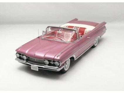 Oldsmobile 98 1959 open Convertible 1:18 Sun Star Platinum