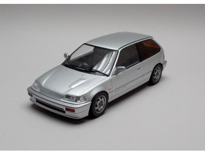 Honda Civic EF 3 Si 1987 stribrna 1 18 Triple9 Collection 1800100 01