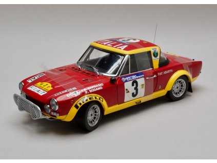 Fiat 124 Abarth Rallye 1974 # 3 Rally African Safari 1:18 Sun Star