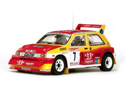 MG Metro 6R4 # 7 Rally des Gariigues1986 1:18 Sun Star