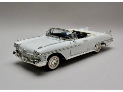Cadillac Eldorado Biarritz 1958 Cabrio bílá 1:18 Lucky Die Cast